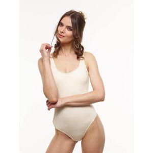 Vaute Couture Ivory Bodysuit
